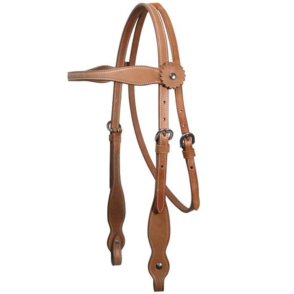 tahoe-country-double-layer-browband-headstall