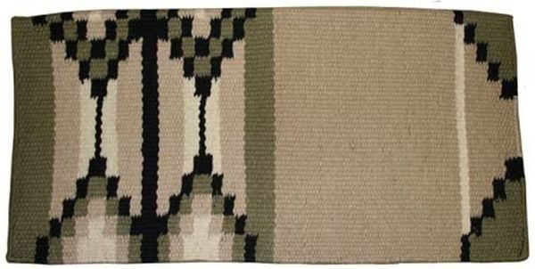 tahoe-tack-new-zealand -wool-saddle-blanket-cream-green