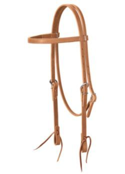 weaver-harness-leather-browband-headstall